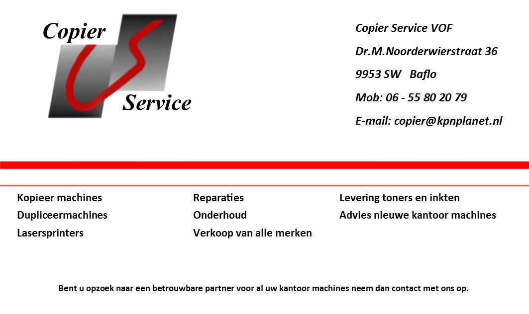 Copier Service